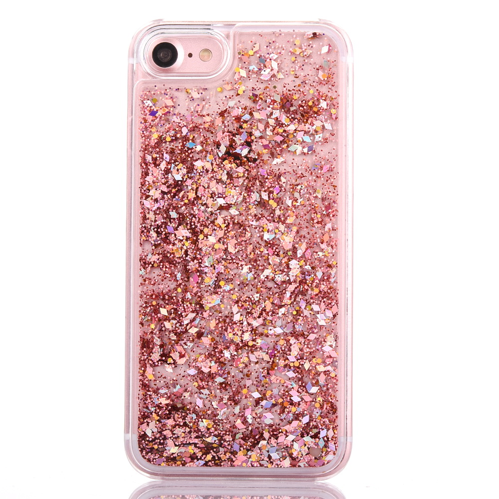 on sale 09131 9be69 Glitter Waterfall Pink liquid case